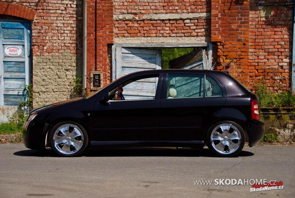 Škoda Fábia Black