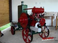 Stabilní motor Ignác Lorenz 3 Hp