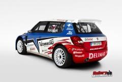 "Škoda Fabia S2000 ""DELIMAX TEAM"""