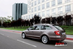 Škoda Superb II combi