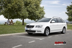 Škoda Superb II combi GreenLine