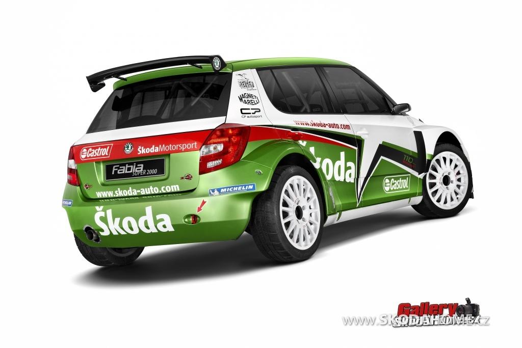 Škoda Fabia S2000 - 2011