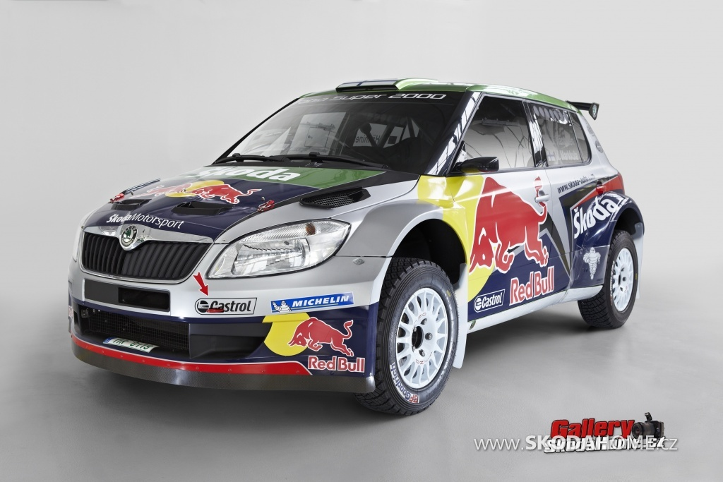 Fabia S2000 - Red bull Škoda Team