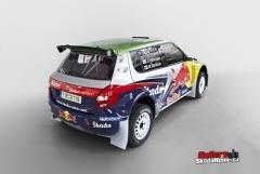 Fabia S2000 - Red bull Škoda Team