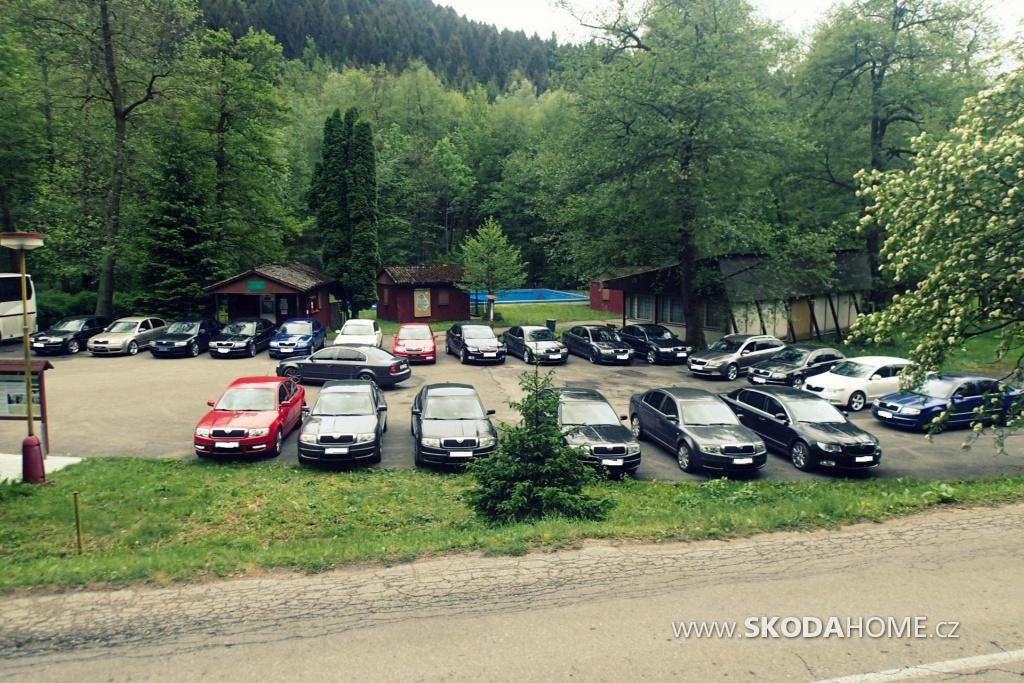 Jarní sraz 2015 Slovensko
