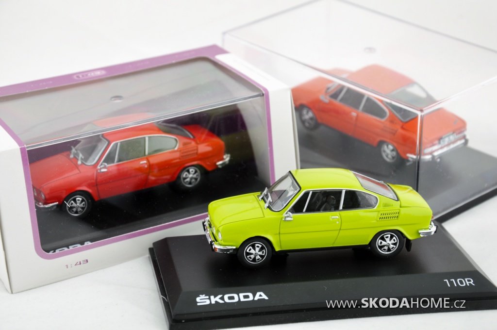 ŠKODA 110R Coupe – Abrex 1:43