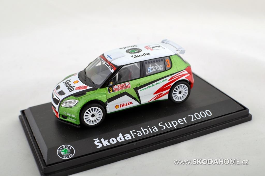 ŠKODA Fabia S2000 - modely
