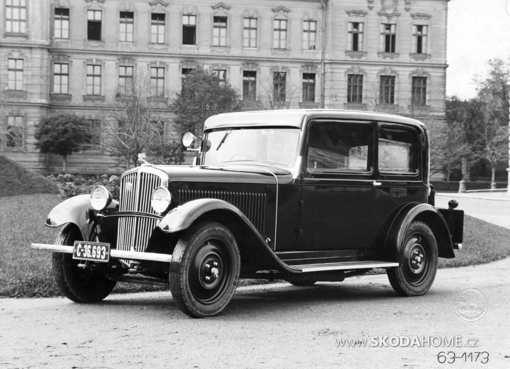 ŠKODA 633 - 1931 až 1934
