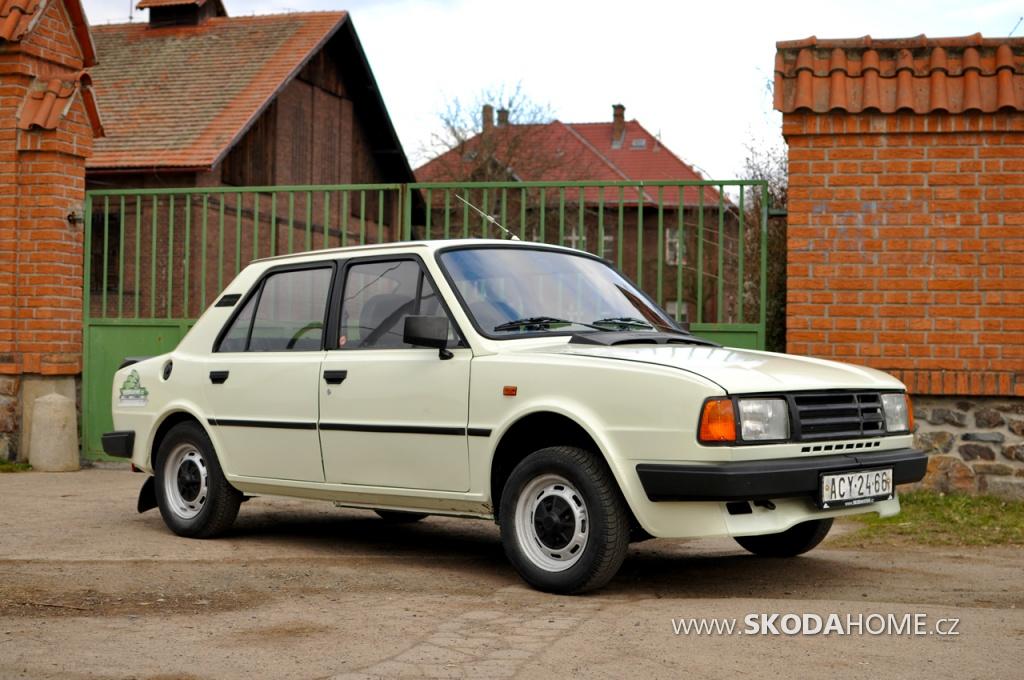 """ŠKODA120 L """"M"""" rok výroby 1986"""