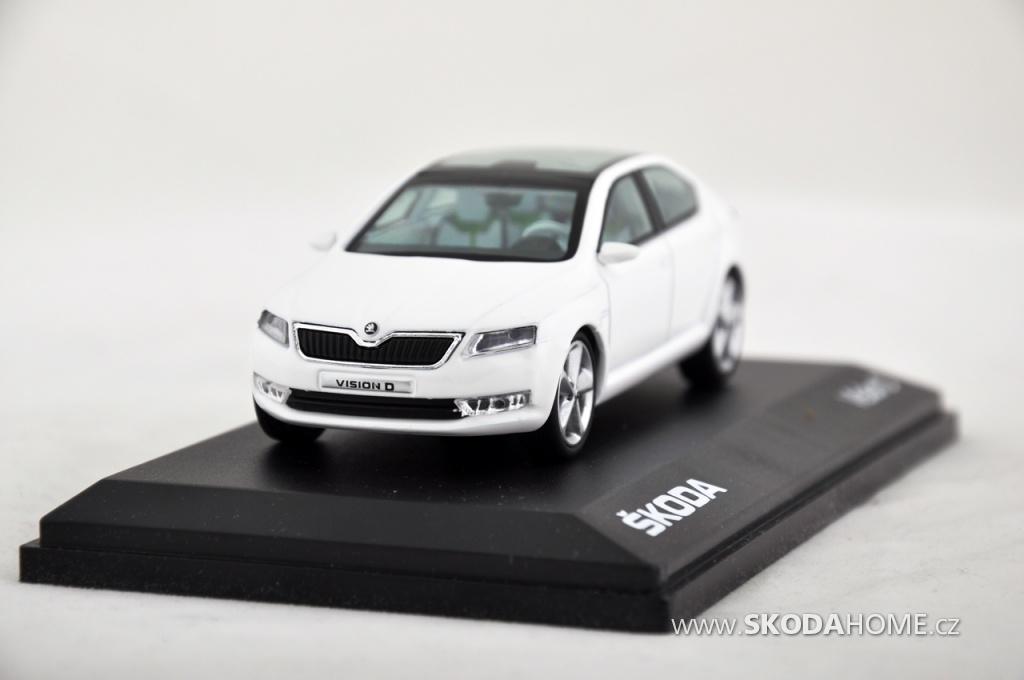 Škoda Vision D – Abrex 1:43