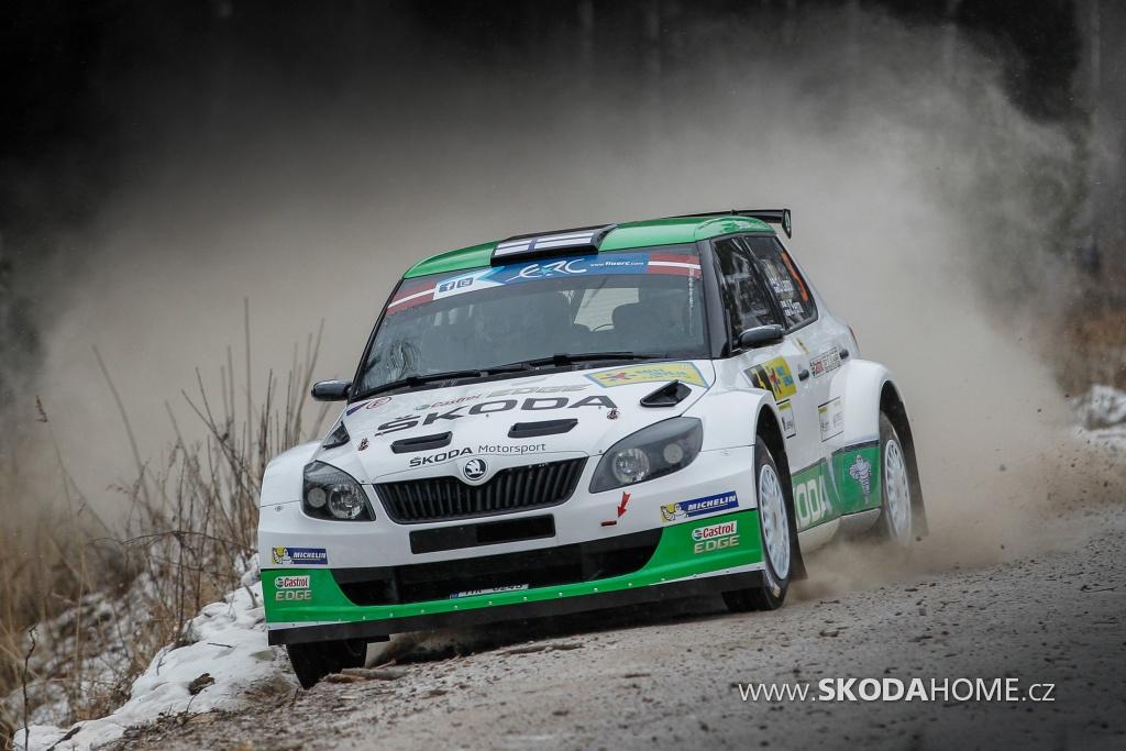 Lotyšská rally ERC 2014