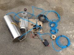 Vzduchový podvozek Fabia - Set