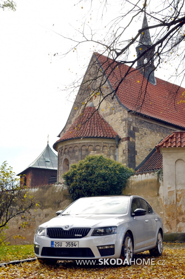 Škoda Octavia RS 2,0 TSI o výkonu 162 kW