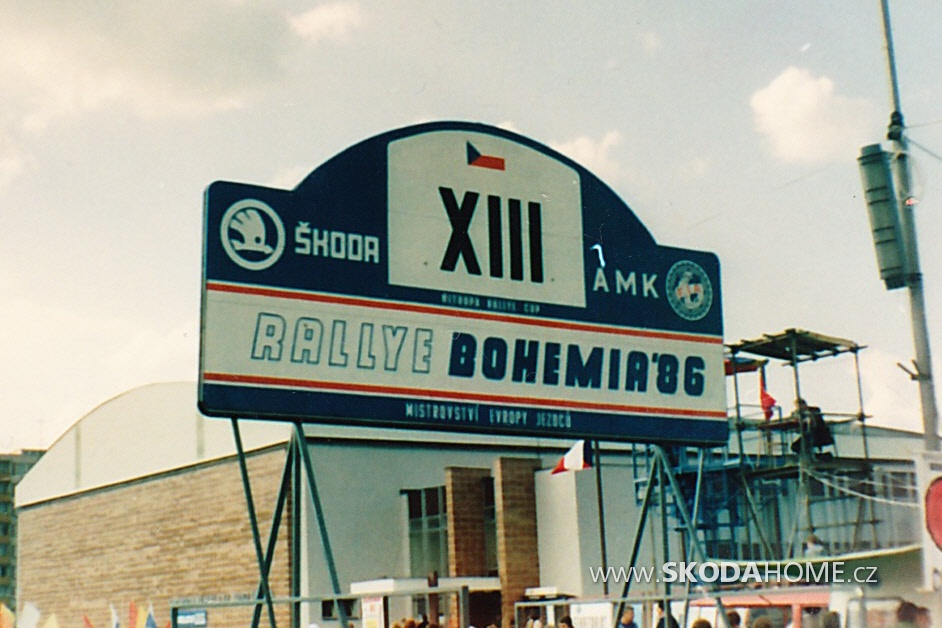 Rallye BOHEMIA 1986
