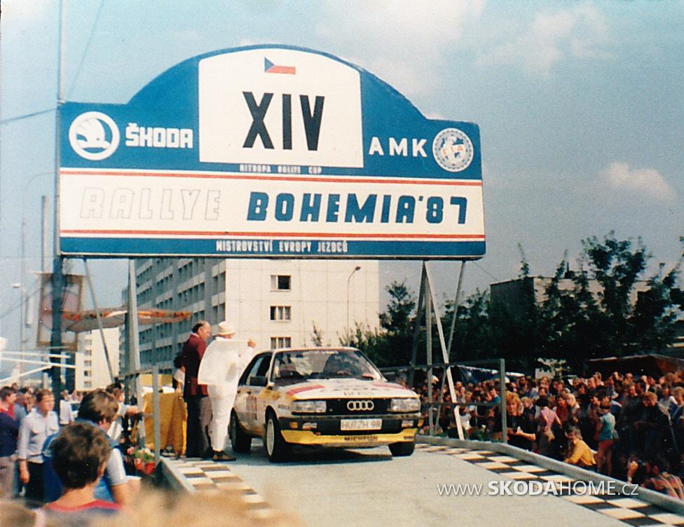 Rallye BOHEMIA 1987