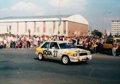 Motorsport Auto Škoda history