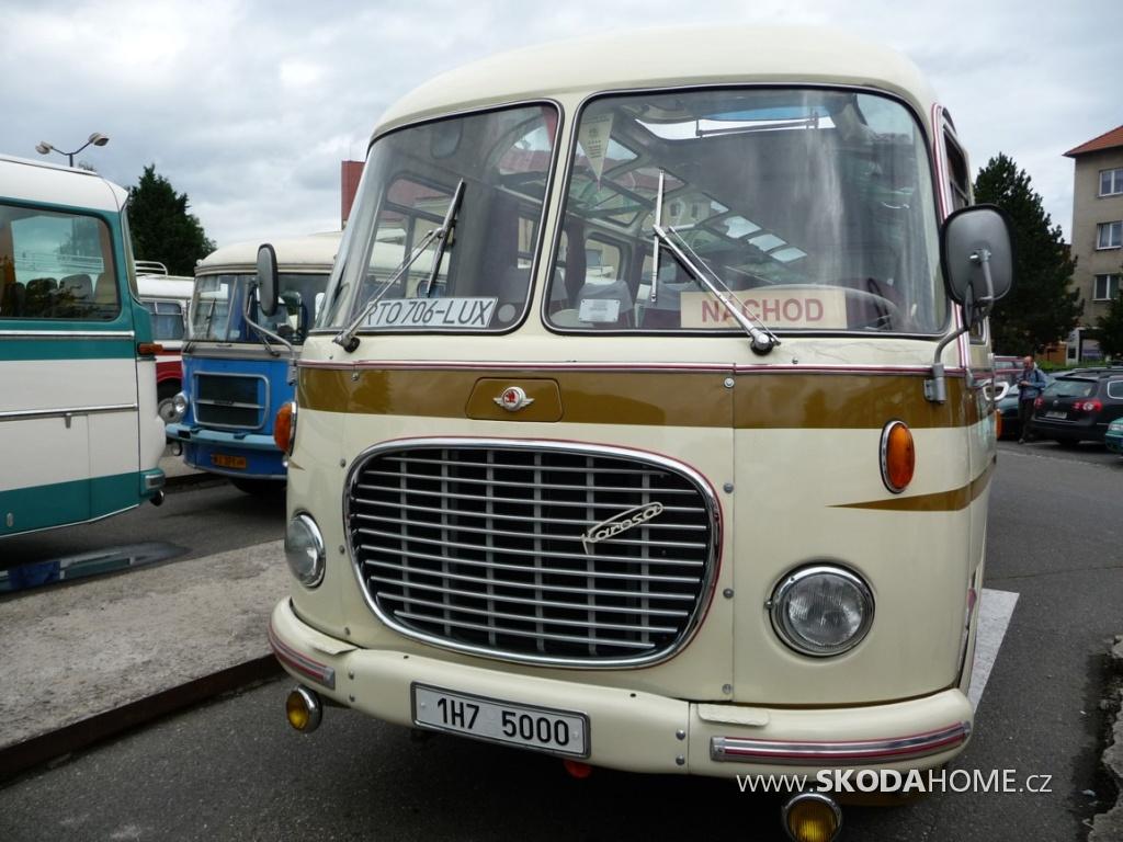 Výstava autobusů Nymburk