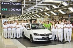 ŠKODA Fabia 2014 - 1.000.000 vůz