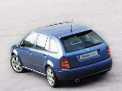 Skoda Fabia Paris Concept 2002 - Back