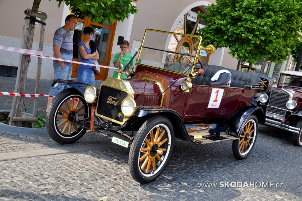 Oldtimer Bohemia Rally 2016 FIVA