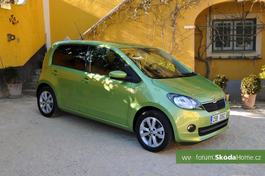 Škoda Citigo - test 5door Lisabon Portugalsko
