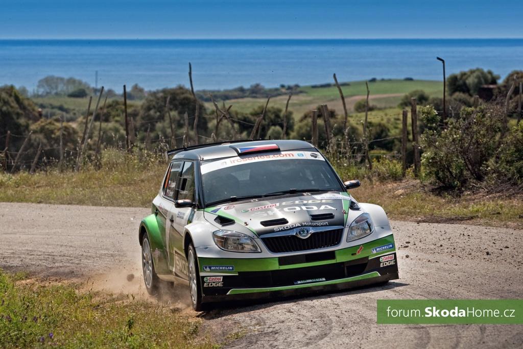 Rally Korsika - IRC