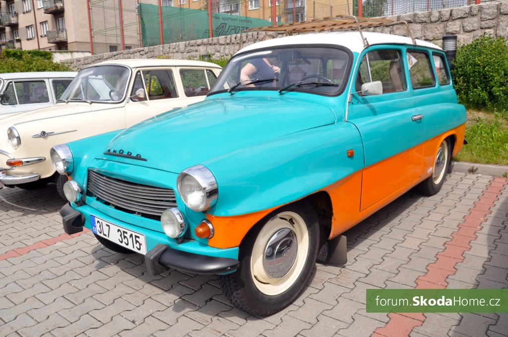 Classic Skoda Weekend 045