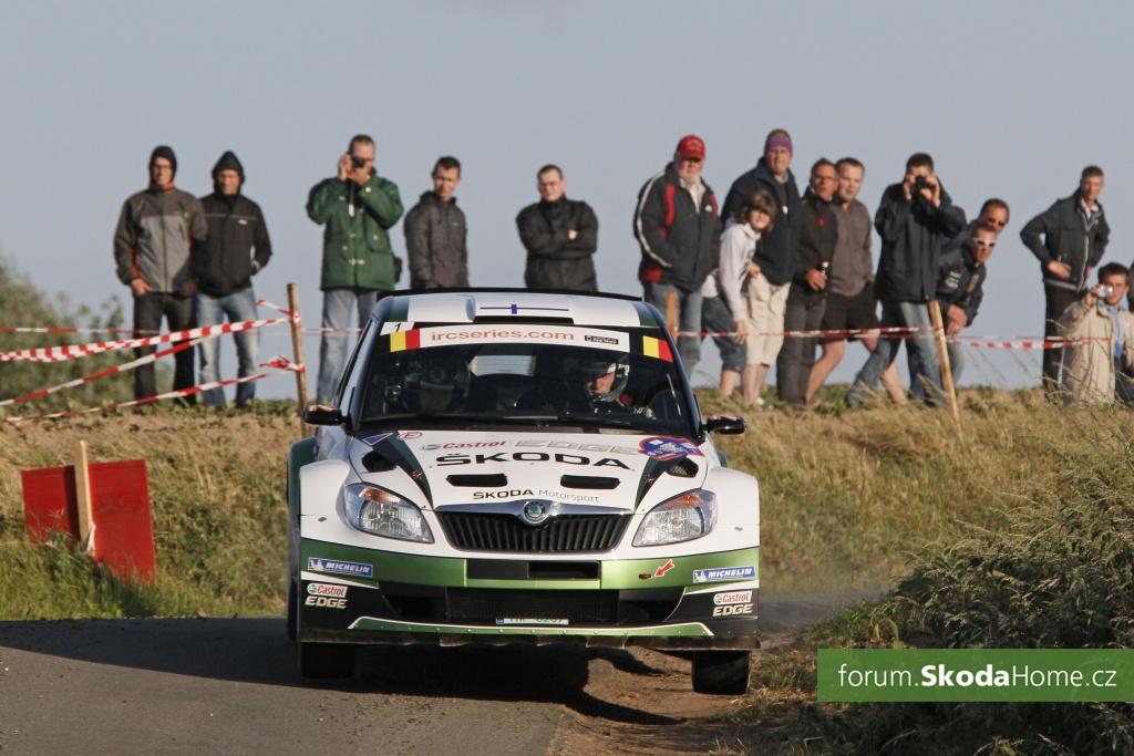 Belgická Ypres rally IRC + ME