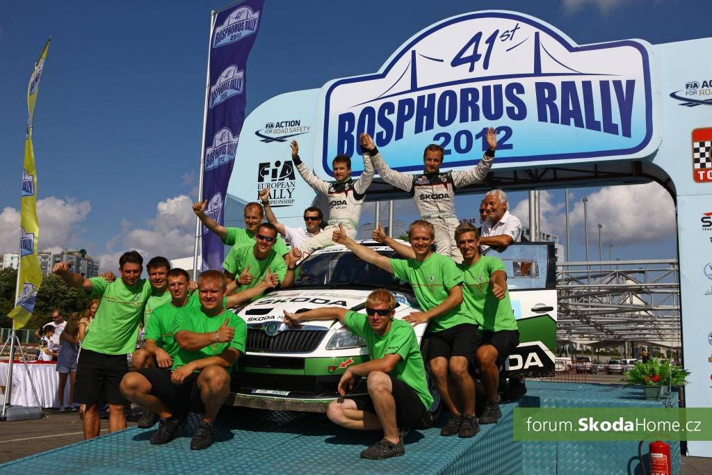 ME - Bosphorus Rally 2012