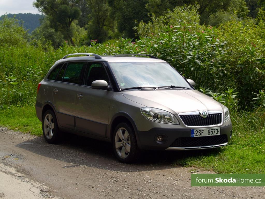 Škoda Fabia 2 - Combi Scout