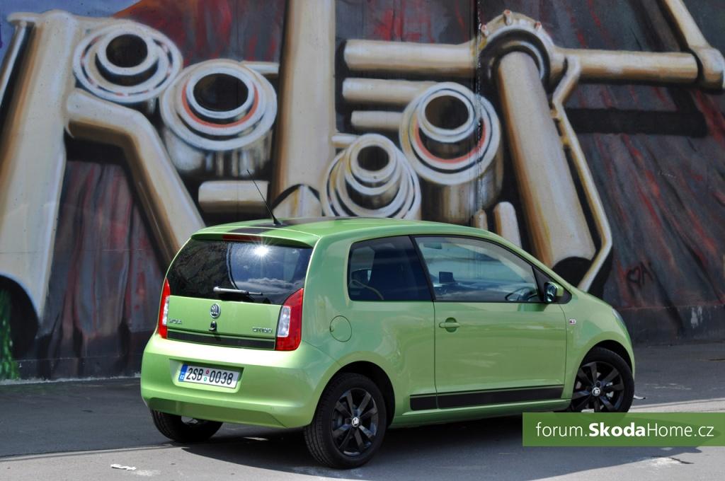 SKODA Citigo 55kW Zelena 016