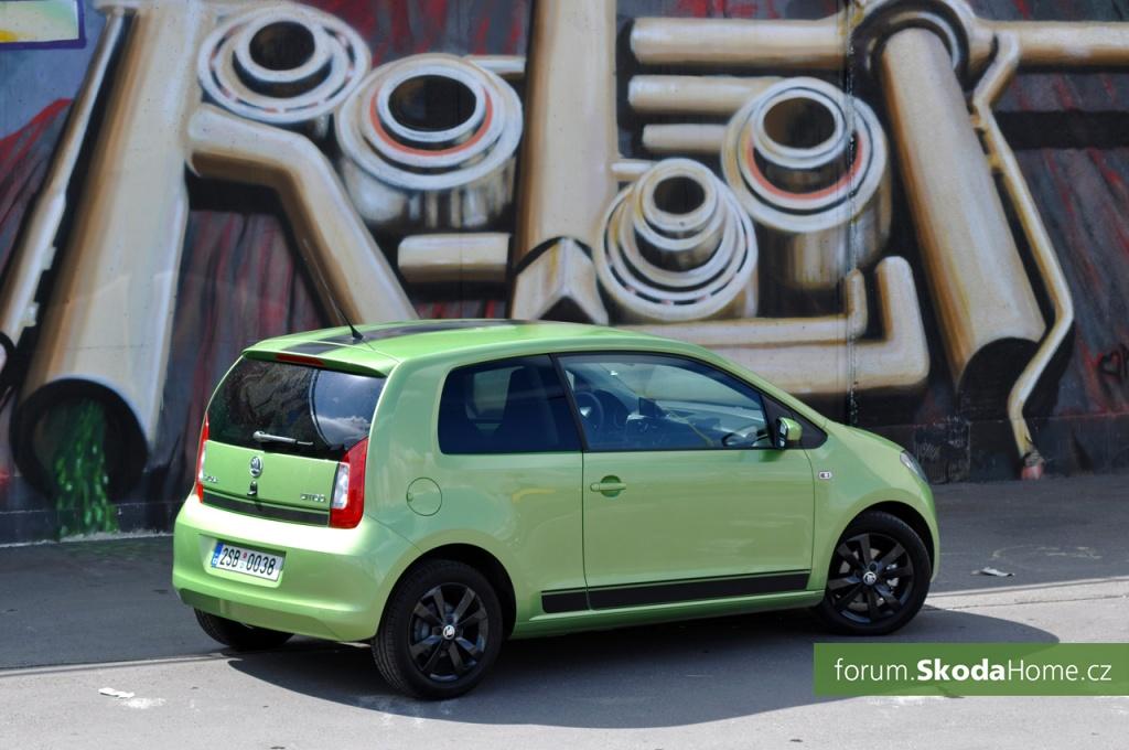 SKODA Citigo 55kW Zelena 017