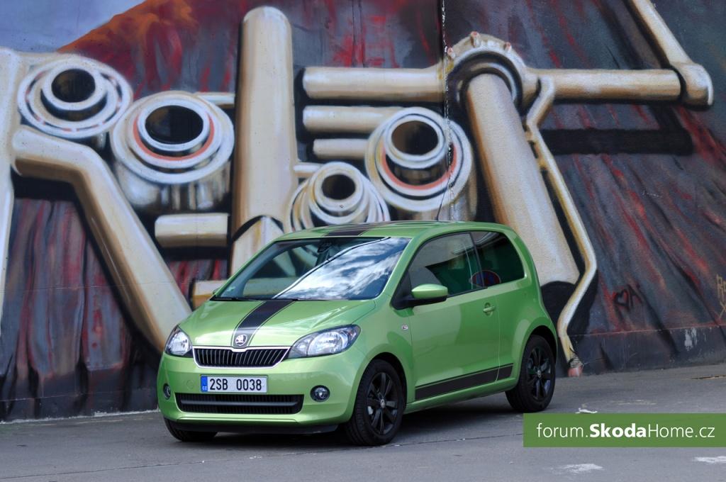SKODA Citigo 55kW Zelena 002