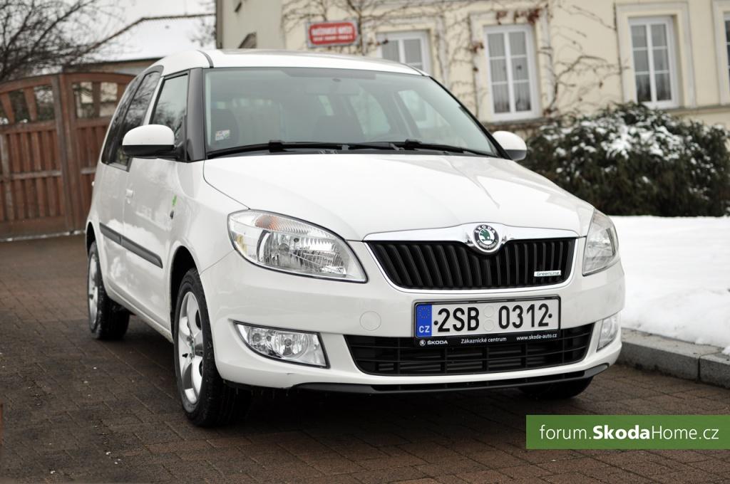 Škoda Roomster 1,2 TDI