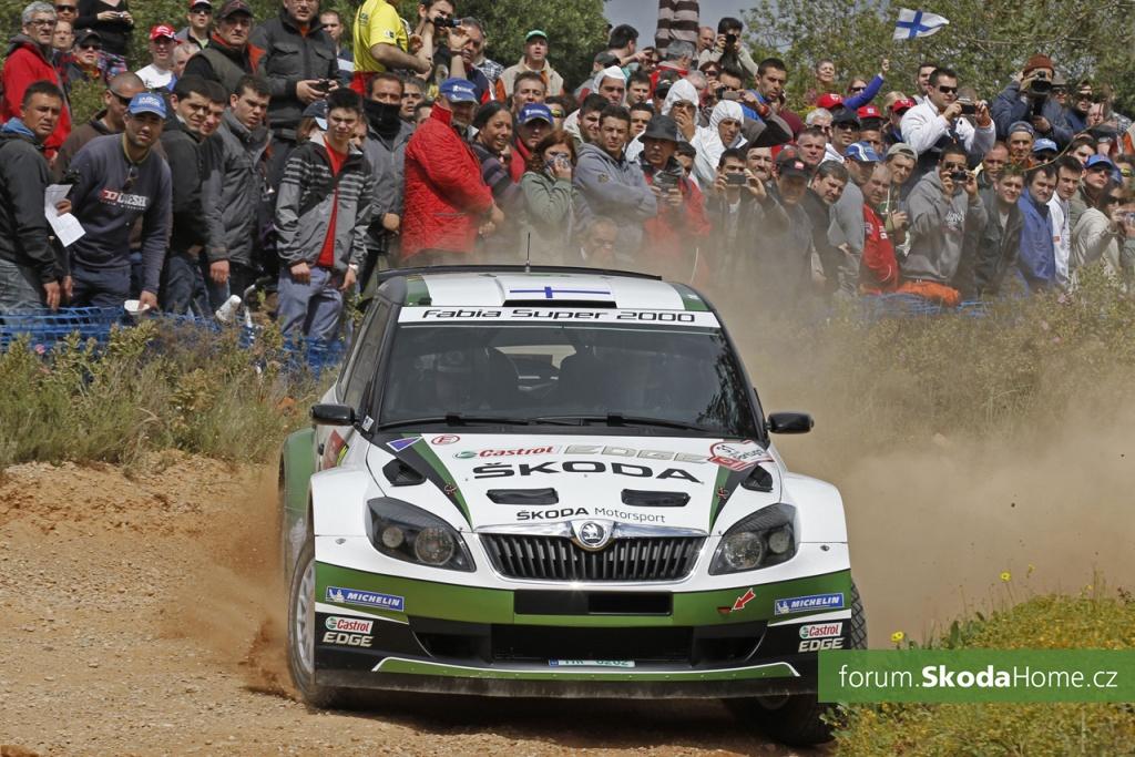 Rally Portugalsko 2013