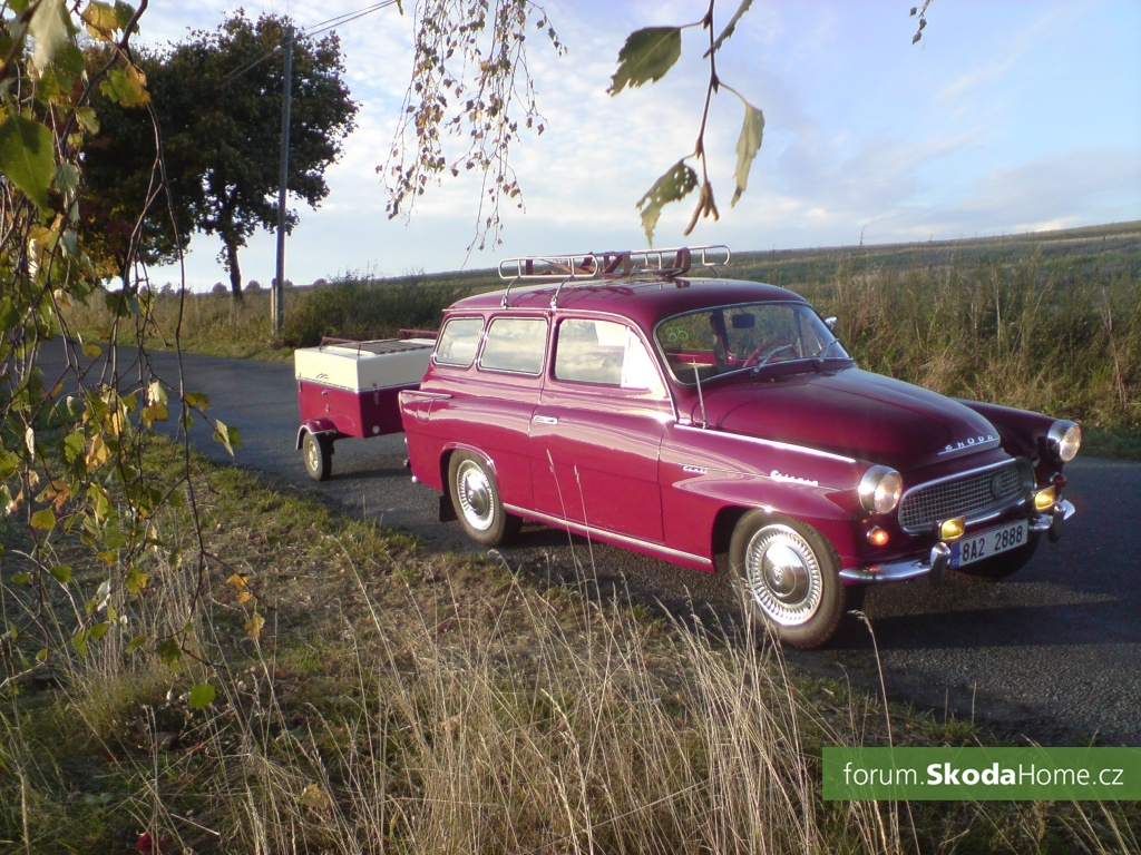 Škoda octavia combi 1964