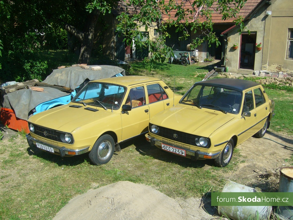 Škoda 120L 1977