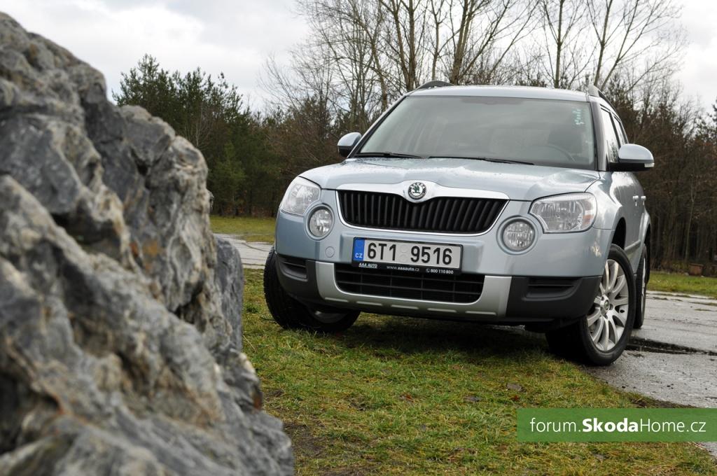 Škoda Yeti 2,0 TDI 4x4