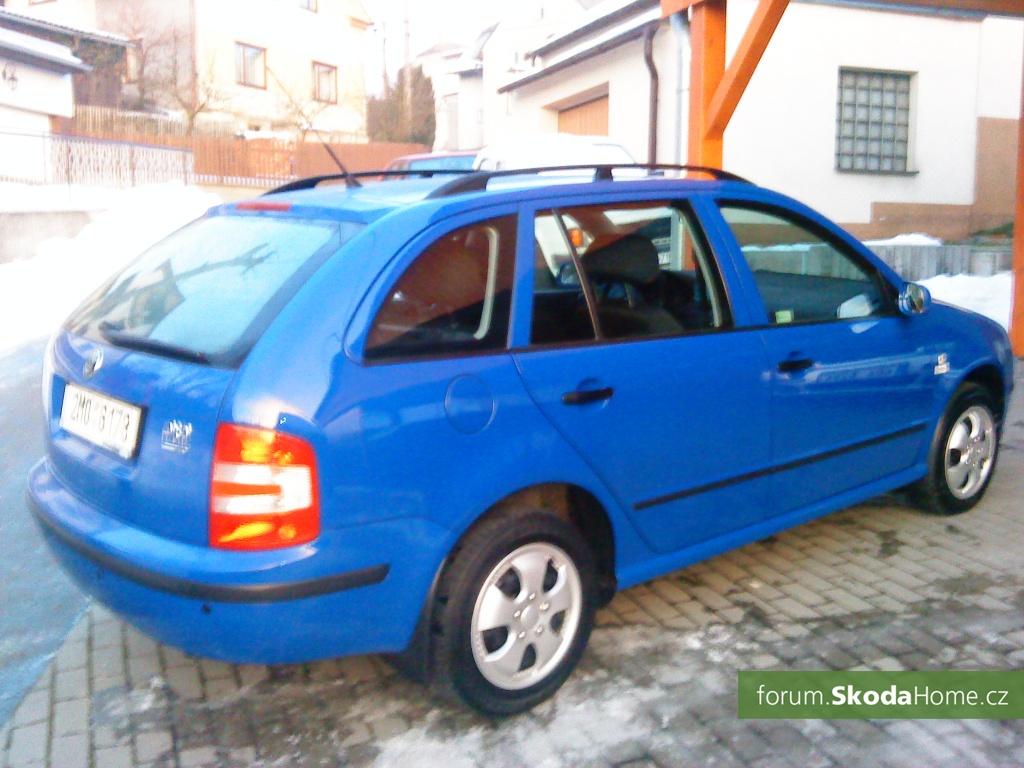 Škoda Fabia 1.4MPI 16v 55kW, Elegance