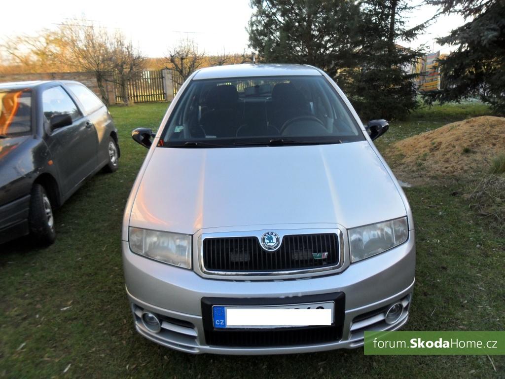 Škoda Fabia 1.4 16V 74kW RS Packet