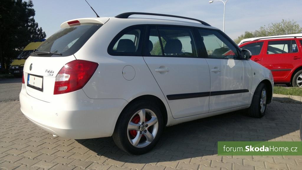 Škoda Fabia II Combi 1,4TDI Elegance 70Kw, 92Ps