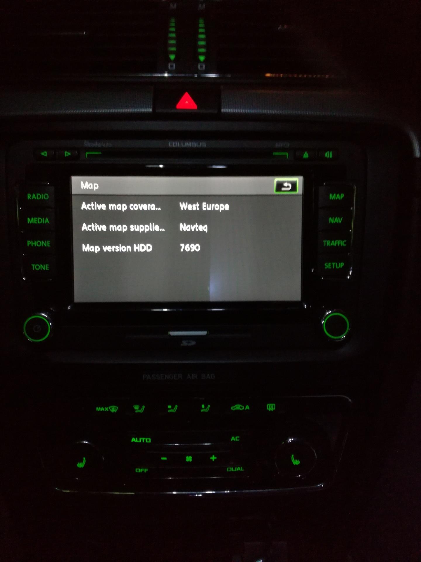 firmware hw vehicle 0xc801 sw vehicle 0x4434002f