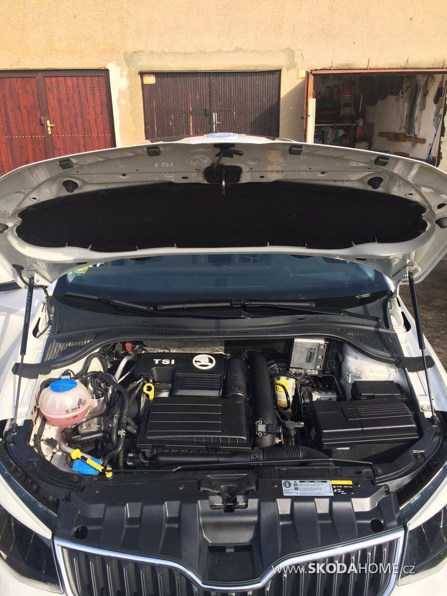 vzpěry kapoty, kryt motoru Tsi, kryt akumulatoru