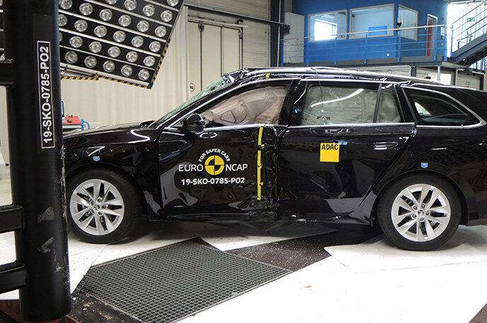 EuroNCAP - Škoda Octavia 2019 získala 5 hvězdiček