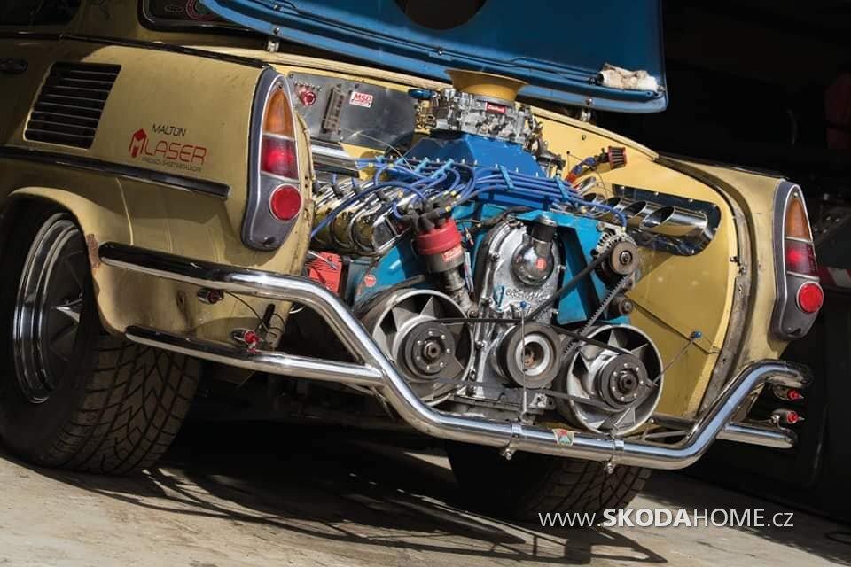 ŠKODA 1000MB Motor Tatra V8