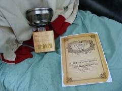 první trofej
