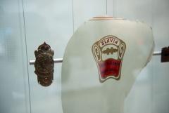 Nové muzeum ŠKODA (víloha) - Znaky SLAVIA