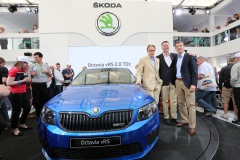 130711 SKODA OCTAVIA RS Unveiled In Goodwood